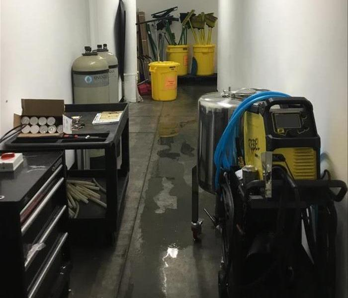 Water Damage Is No Match For SERVPRO Technicians  Before