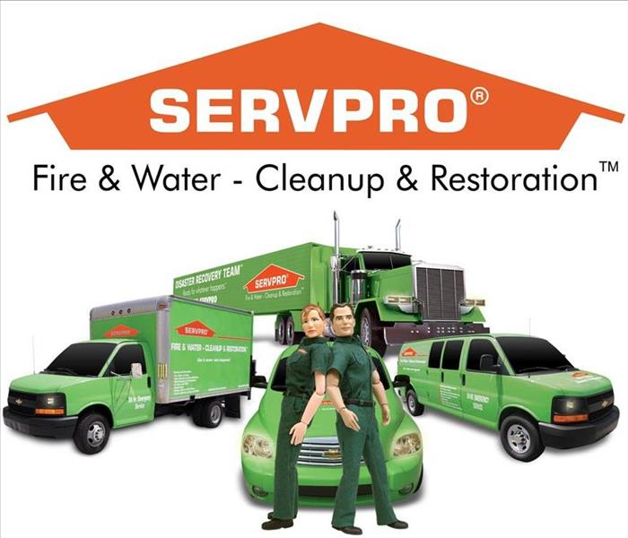 SERVPRO figure heroes back to back